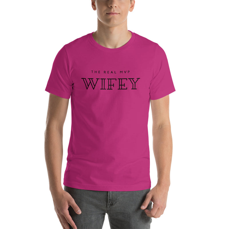 The Real MVP Wifey Short-Sleeve Unisex T-Shirt