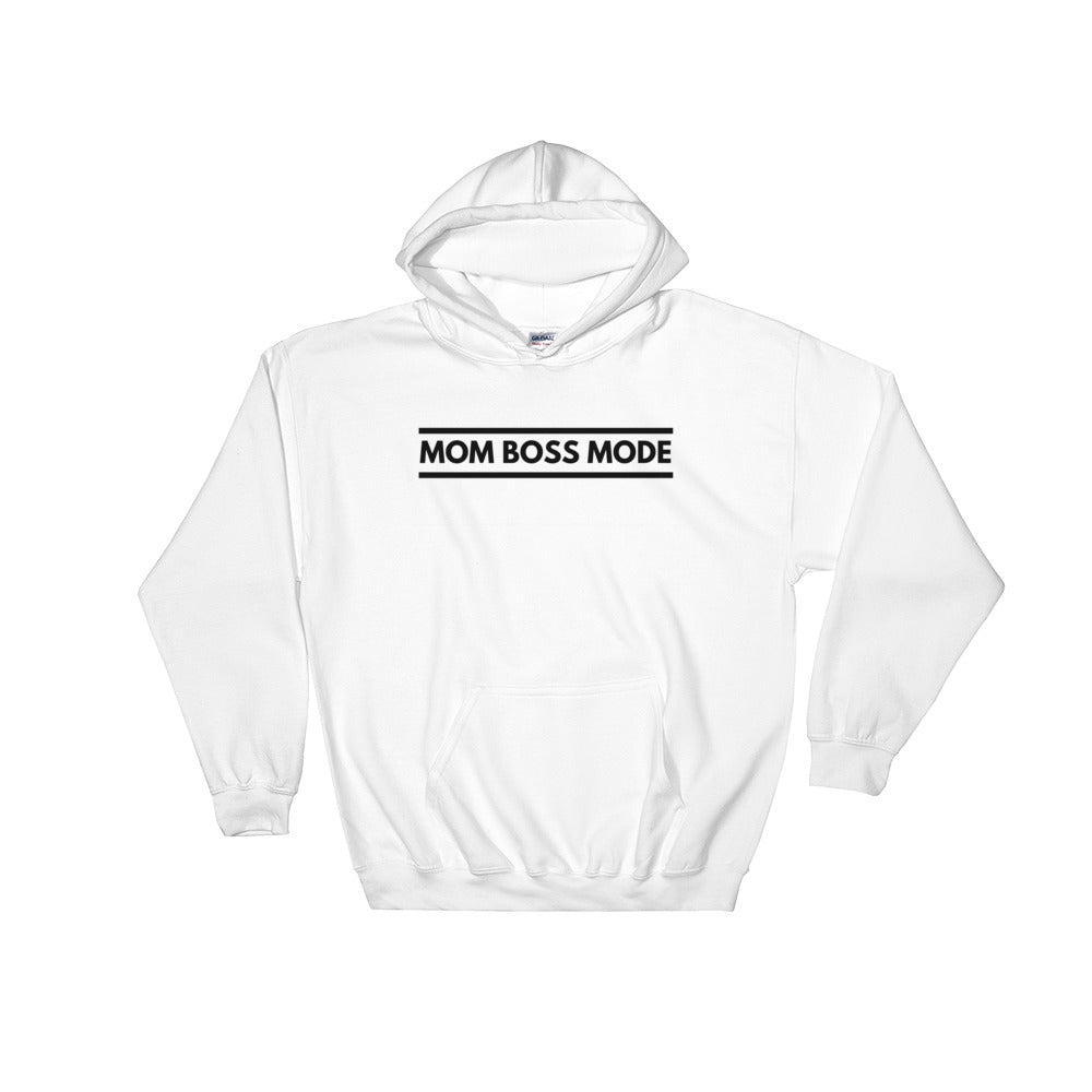 Mom Boss Mode Hooded Sweatshirt