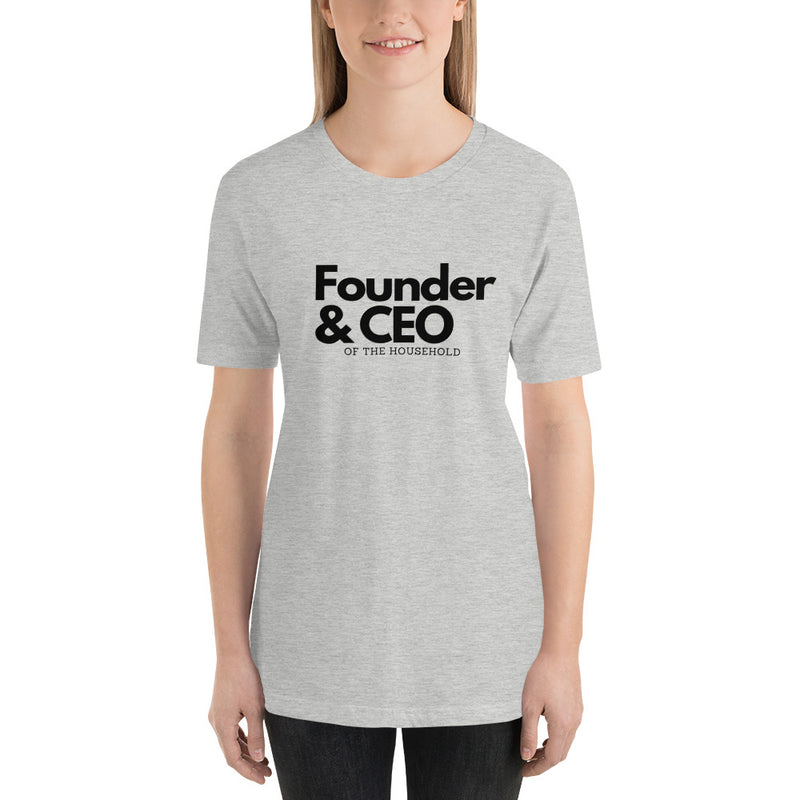 Founder & CEO of the Household T-Shirt