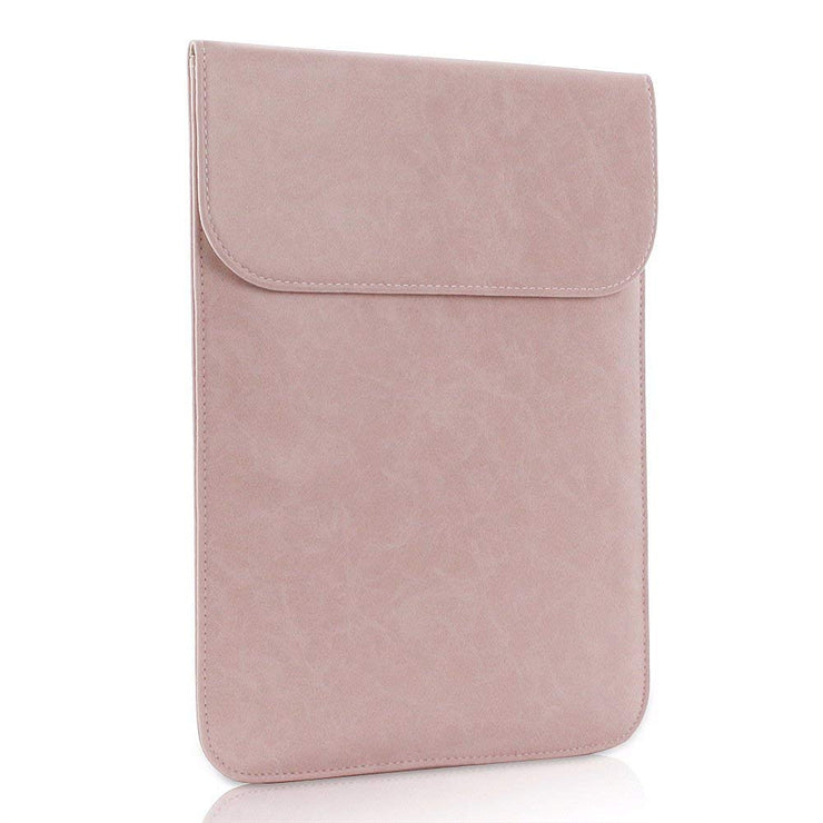 "Allinside Pink Synthetic Leather Sleeve for MacBook Air 11"" MacBook 12"""