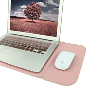 "Allinside 13-13.3"" Laptop Sleeve for MacBook Air 13""/ MacBook Pro 13"" Retina, Synthetic Leather, Pink"