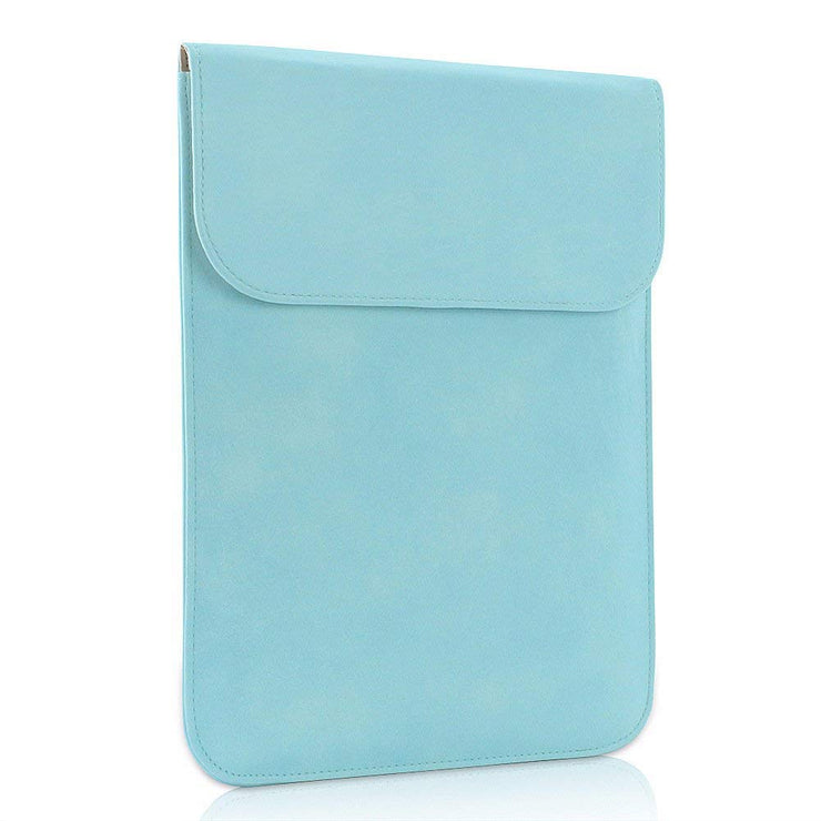 "Allinside Blue Synthetic Leather Sleeve for MacBook Pro 15"" with/without Retina and New MacBook Pro 15"" with Touch Bar"