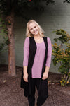 Life Of The Party Sleeveless Cardigan In Black - M & H