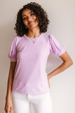 Tender Kisses Top In Lavender