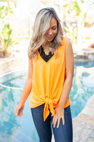 Stopping Traffic Sleeveless Top