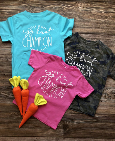 Egg Hunt Champion - 3 Colors Available - M & H Littles