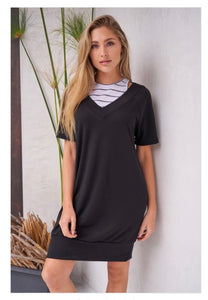 Sporty Dress With Attached Tank
