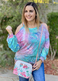 Sweet Tooth Long Sleeve Cold Shoulder