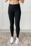 Lucy Lounging Leggings in Black