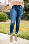 Kan Can Double Trouble Fringed Jeans - M & H
