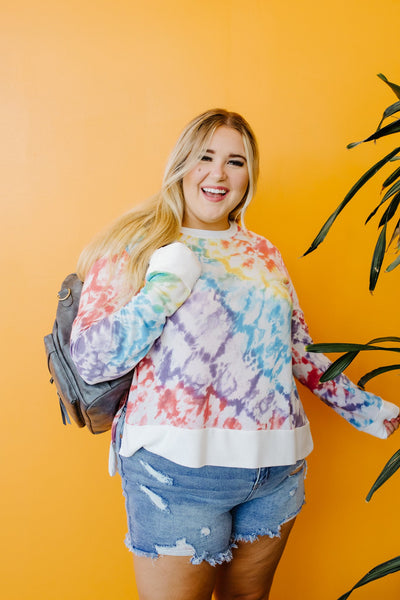 Fit To Be Tie Dyed Sweatshirt