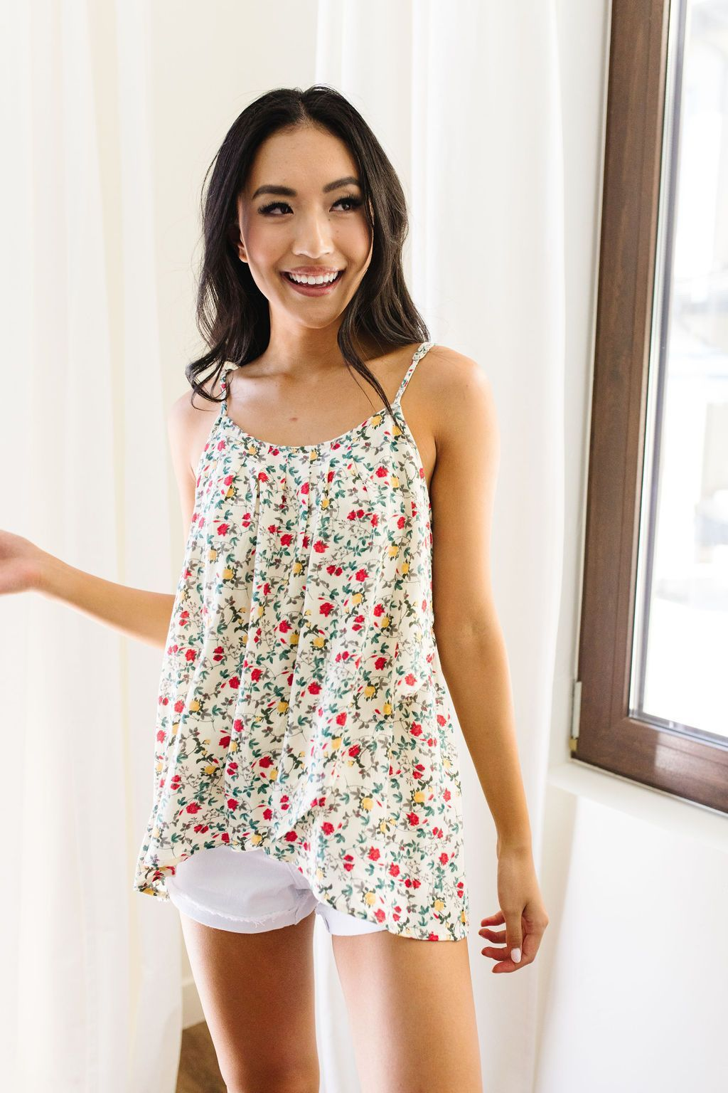 Floral Patchwork Tank