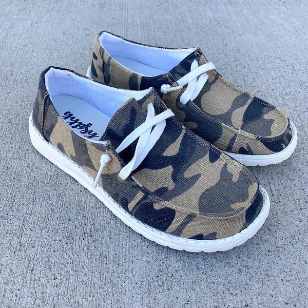 Slip On Camo Shoes - BEST SELLER LIMITED QUANTITY