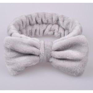 Solid Color Fleece Spa Headband - M & H