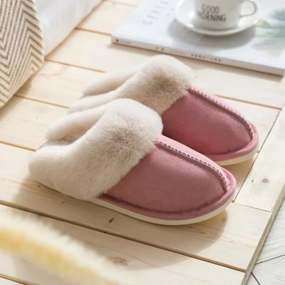 Micro Suede Plush Slipper - M & H