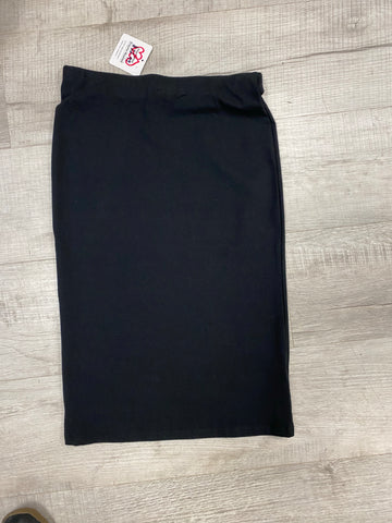 Heart and Hips Black Pencil Skirt - M & H