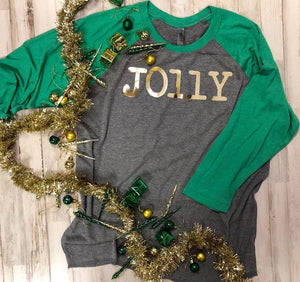 Jolly Raglan Top