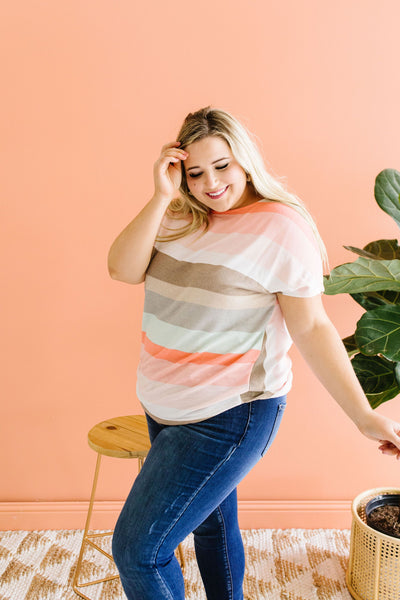 Peachy Back V Top - Only Size 2XL - M & H