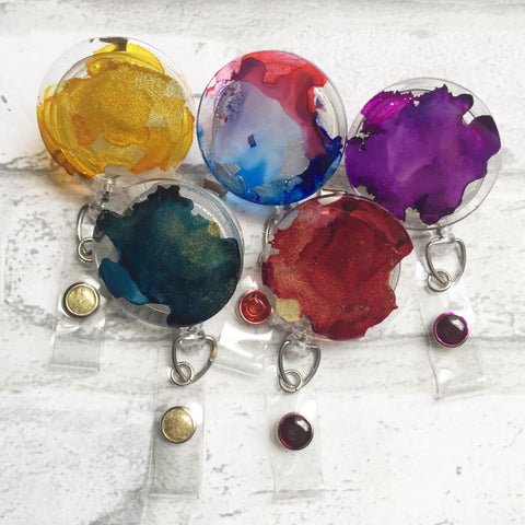 ALCOHOL INK BADGE REELS