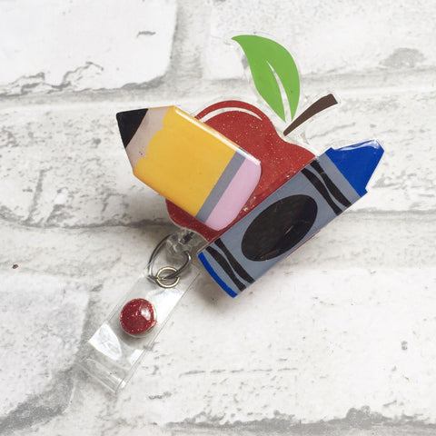 TEACHER 3D BADGE REEL