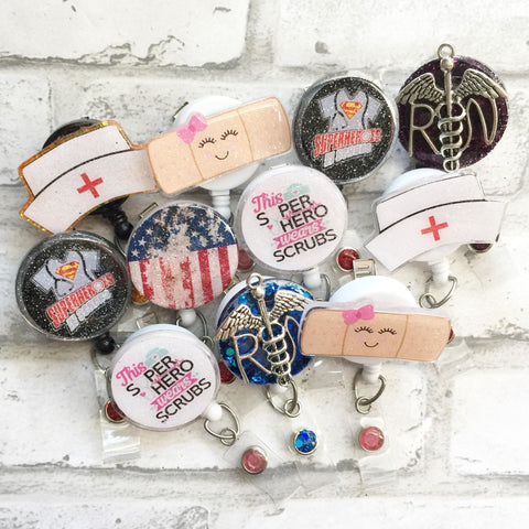 NURSE BADGE REELS