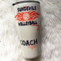 VOLLEYBALL TUMBLER