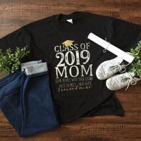 CLASS OF SENIOR MOM SHIRT