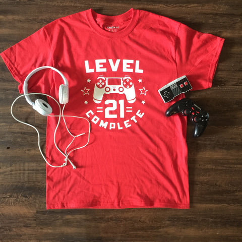 LEVEL 21 GAMING  T-SHIRT