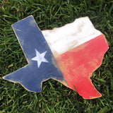 TEXAS SHAPE WOOD SIGN