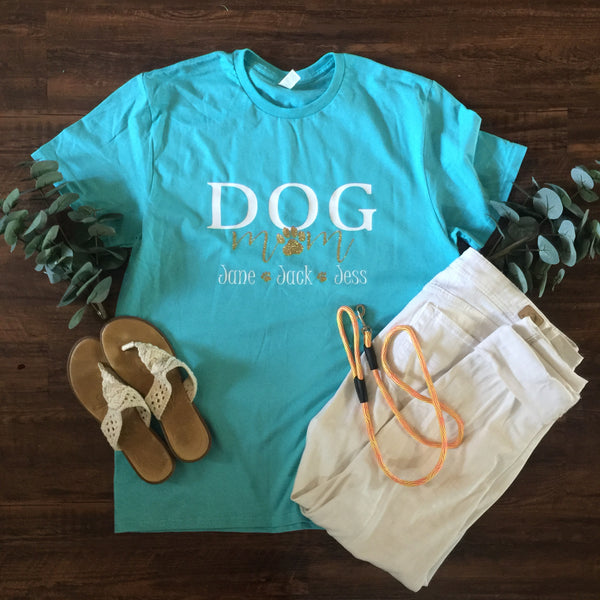 DOG MOM T-SHIRT