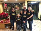 OUR FAMILY IS ARMY STRONG T-SHIRT