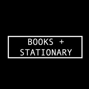 Books + Stationary