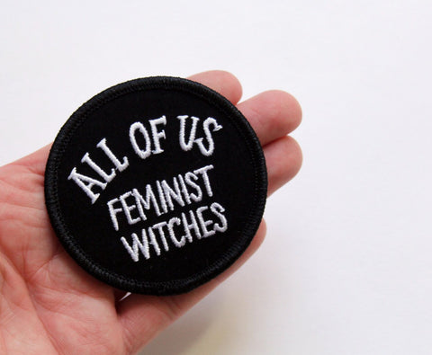Velveteen All of Us Feminist Witches Patch