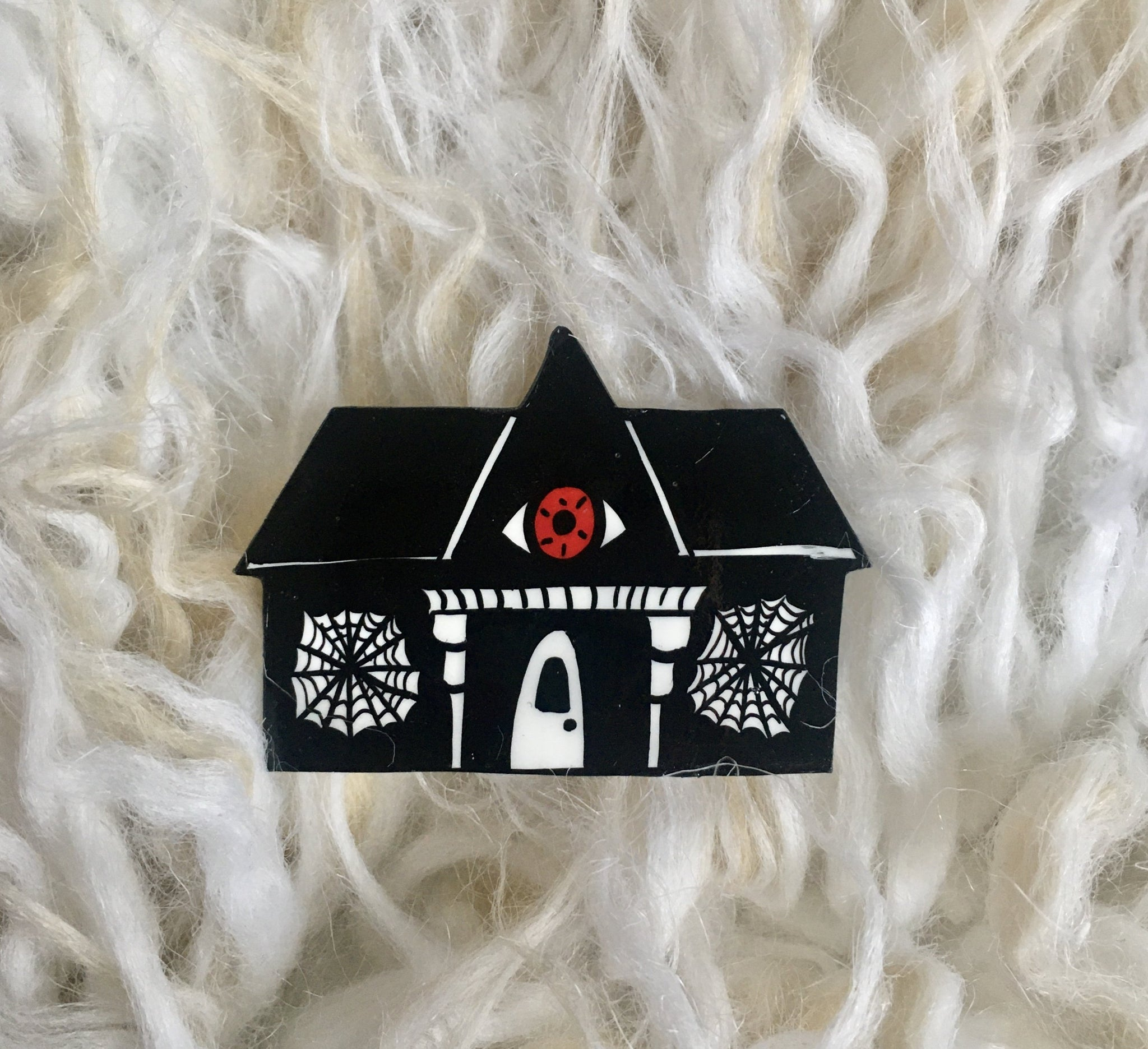 All Seeing Spiderweb House Brooch