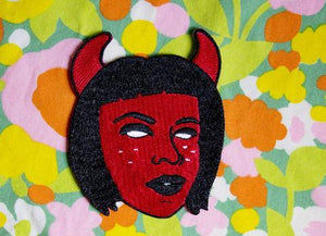 Devil Grrrl Patch