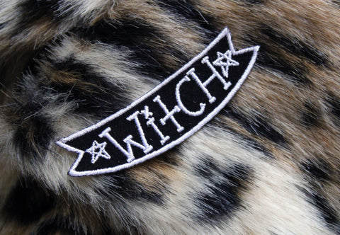 Velveteen Witch Patch