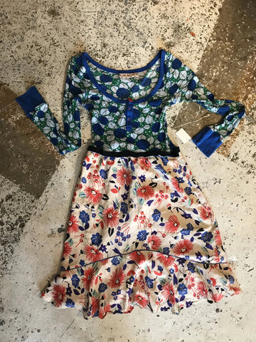 Floral Clash Dress s/m