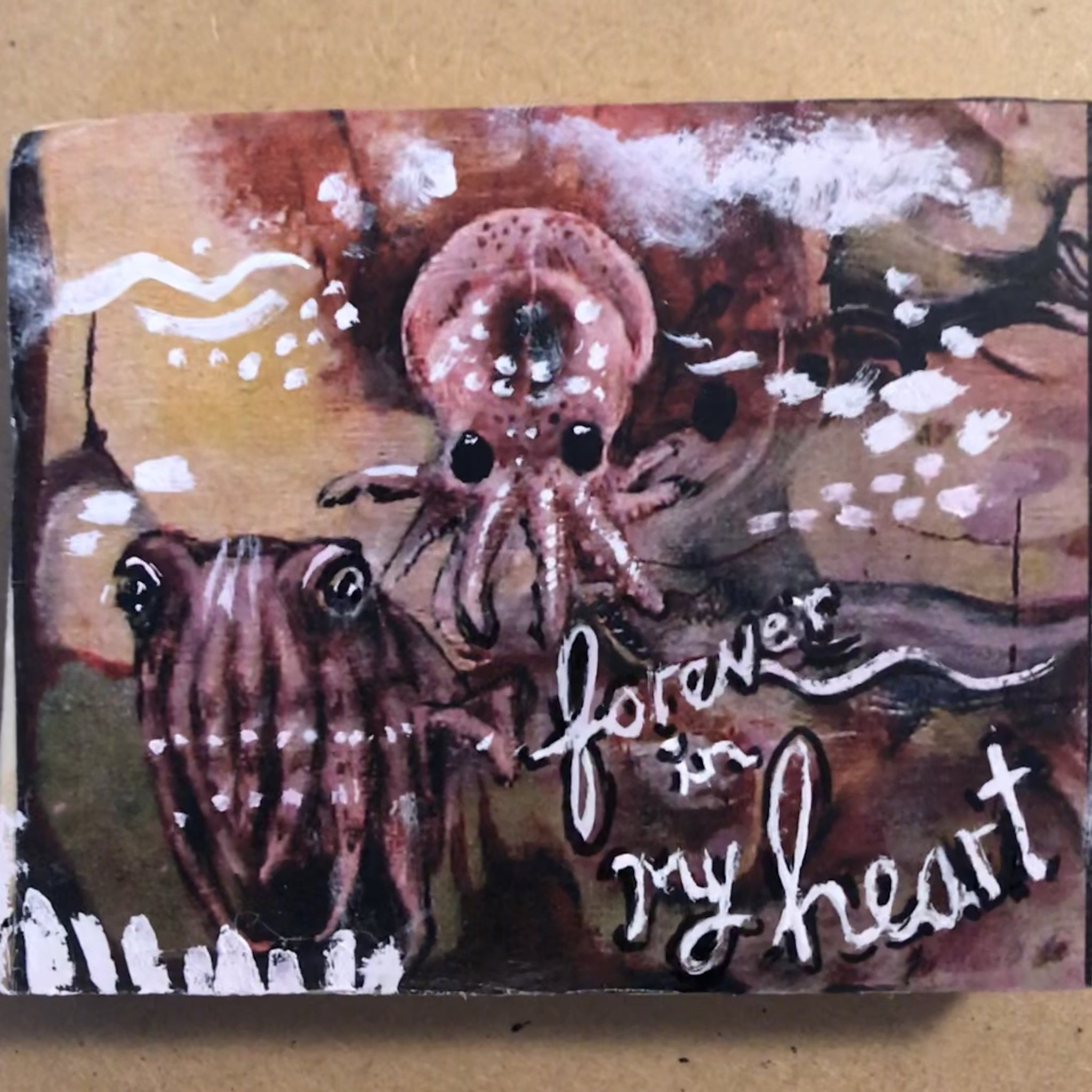 One of a Kind Plaque- Sea Creatures - Forever in my Heart