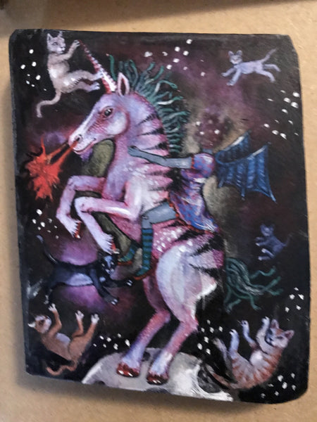 One of a Kind Plaque - Unicorn Galaxy