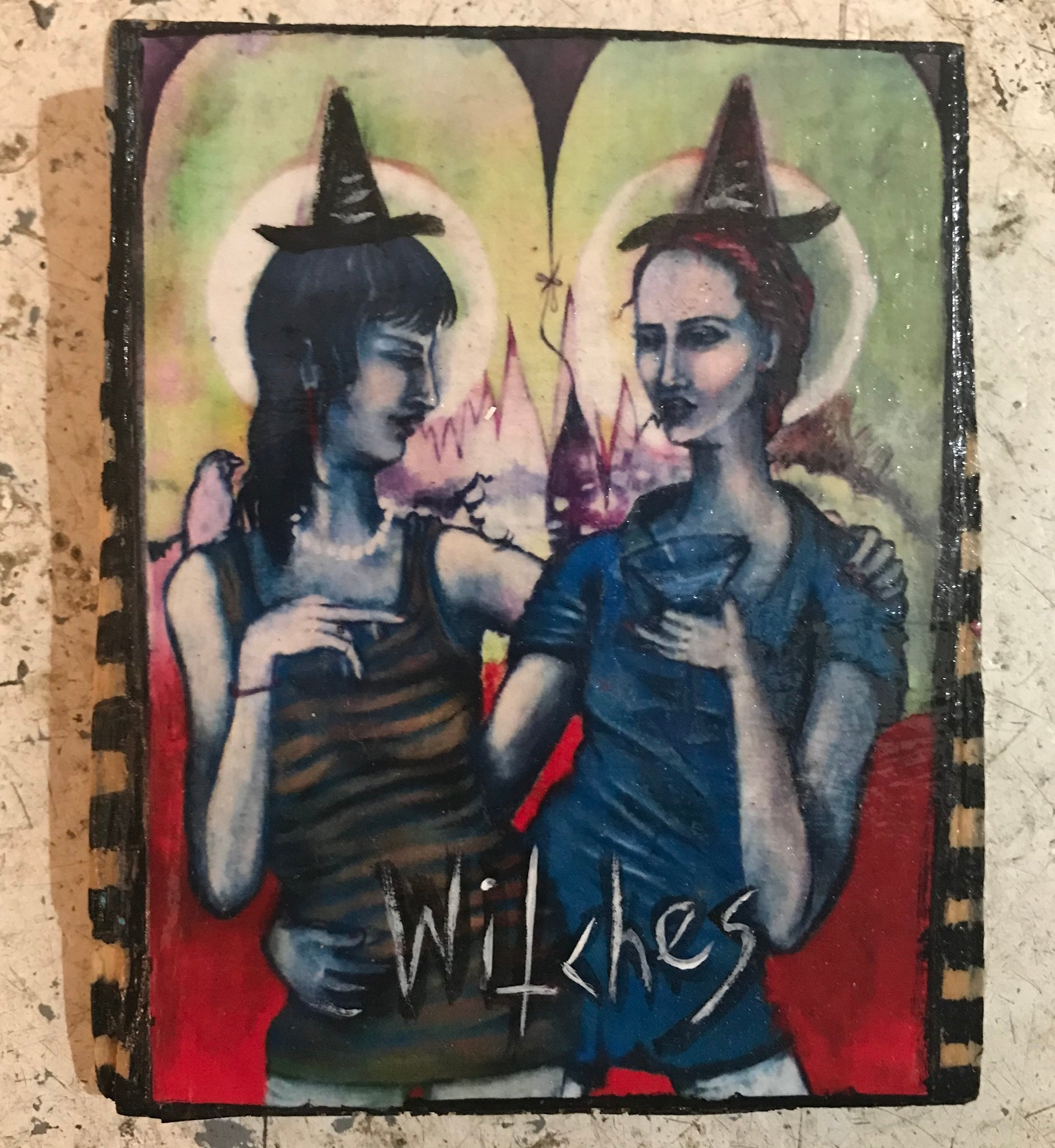 One of a Kind Plaque- Witches