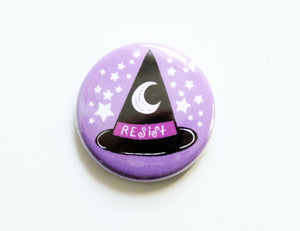 Witches Resist Button