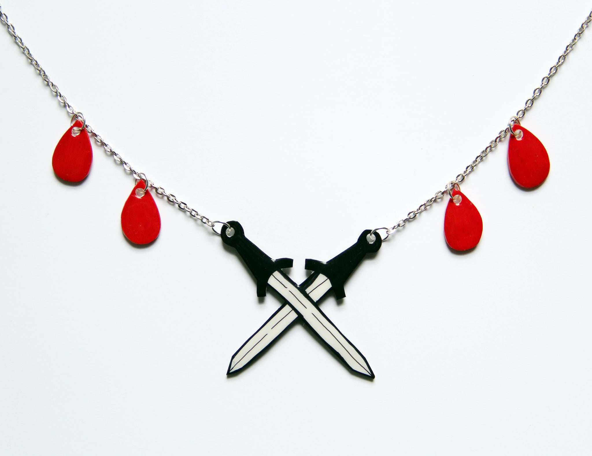 Tarot Necklace | Swords