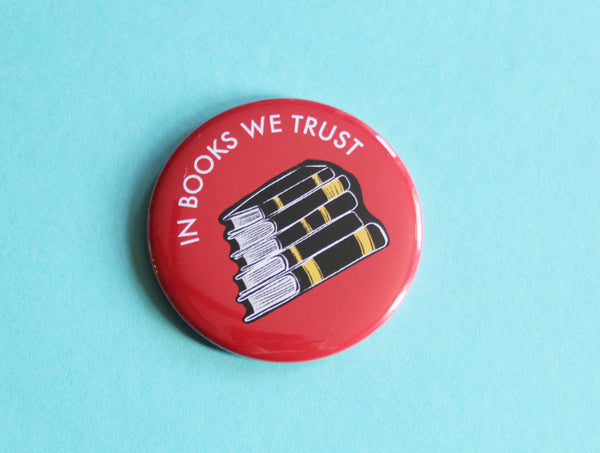 In Books We Trust Magnet