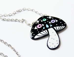 Magical Mushroom Necklace