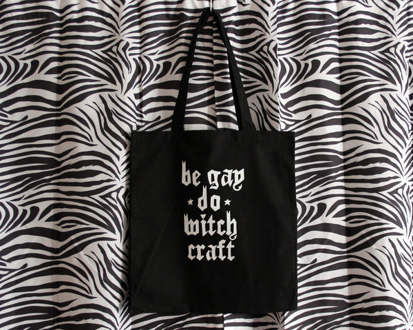 Be Gay Do Witchcraft Tote