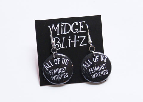 All of Us Feminist Witches Earrings