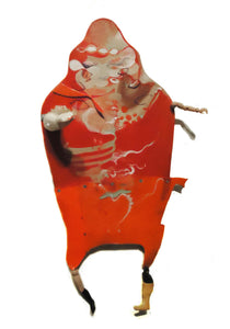 Red Man Assamblage Art