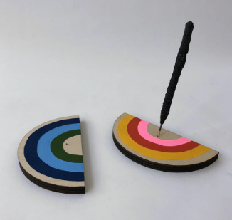 Rainbow Incense Burner