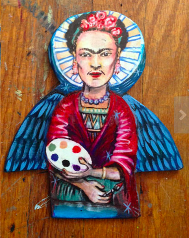 "Frida Kahlo Angel 7"" Artwork"