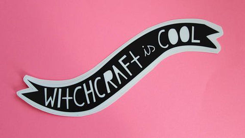 Witchcraft is Cool Sticker